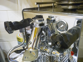 Expobar / Brewster Coffee Machine - hot pipe shroud