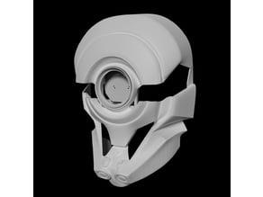 Borderlands 3 FL4K Helmet with blinking eyes
