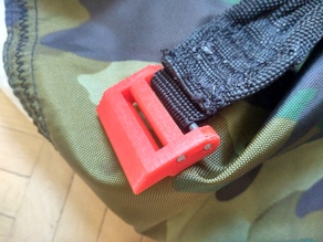 Strap adjuster for 30mm straps (no sewing req.)