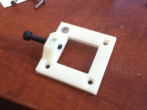 XY-Tensioner/Wood Stabilizer Plate