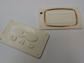Case for RFID access card