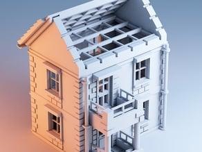 Printable Town House 1