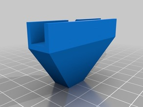 Anet A8 T corner with overhang fix