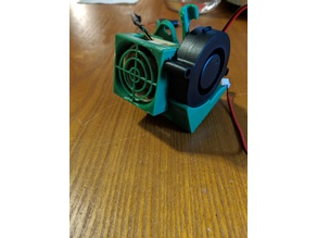 CrossHair Fan grille for HeroMe 40x20 Noctua Fan NF-A4x20
