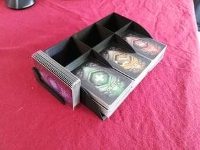 Loot deck holder for sleeved card - Nemesis