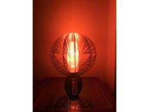 Genetic fractal lamp