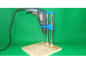 010-Homemade Precision Press Drills DIY Drilling Rotary Wood Hand Tools Stand Cheap Drill Base