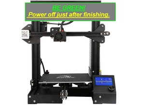 Automatic Power Off after print