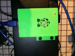Remixed base for RaspberryPi 3 Case