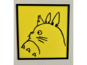Totoro Side Portrait