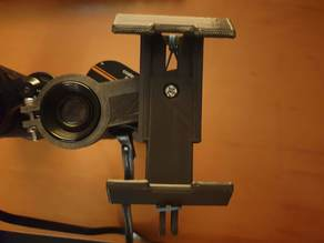 Phone mount for binoculars remix