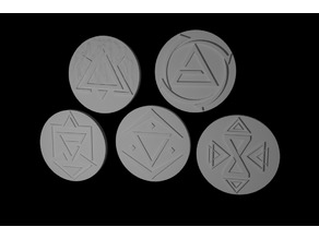 Witcher Sign Tokens
