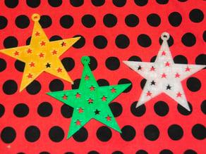 Fancy 5 point star