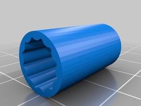 3D Printed 8-12mm Bushing for iBoardBot