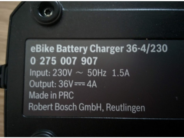 Wall Holster For Bosch Ebike Battery Charger 36 4 By