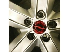 Opel Astra wheel rim cap
