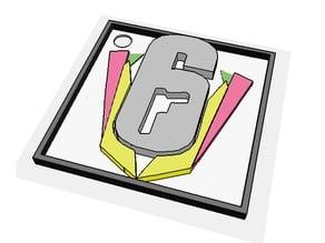 Rainbow Six Invitational - Keychain
