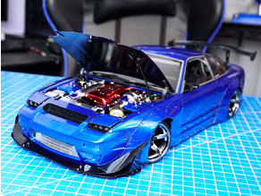 1/10 180SX Rocket Bunny Parts