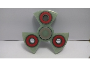 Parametric Nuclear Style Fidget Spinner