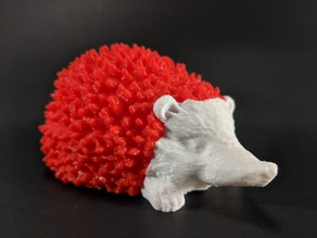 Two Color Hedgehog / Dual Extrusion Print!