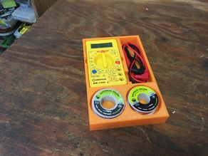 Multimeter and Solder Holder