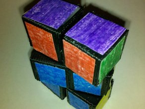 Re-Revised 3x2x1 Rubik's Cube