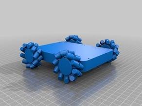 3D Printed Mechanum Rover