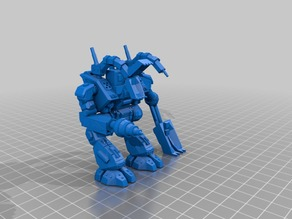 Modular Mech Construction Accessories