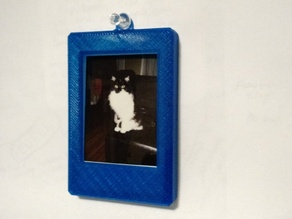 Instax Mini Picture Frame and case with Thumbtack hole - Horizontal or Veritcal