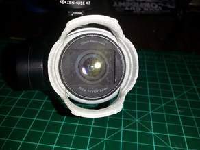 Dji Inspire Lens Hood with Vents