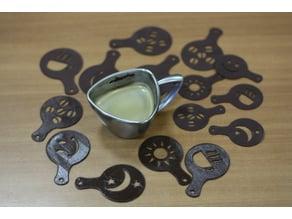 Coffee Decoration Templates