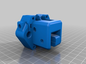 Hypercube Evolution Y-Carriage for 10 mm Axis & X-Endstop-Flag