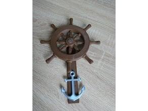 Steering-Wheel Decoration