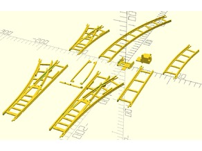 my toy train track