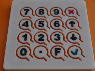 Custom Keyboard with 16 Keys