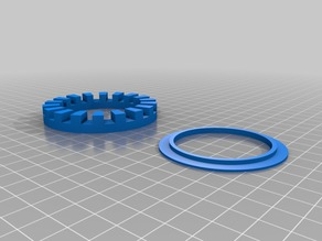 Rubber Shock Absorbers for ATOM 3D printer