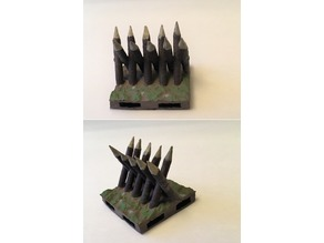 Anti-Cavalry Spikes (Cheval de Frise)