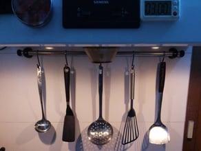 Kitchenware/Curtain Rod Holder