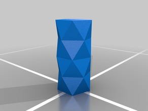 Triangular Design Vase