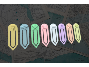 Travel bookmark collection