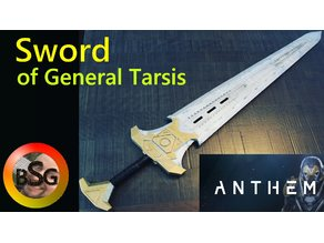 Sword of General Tarsis - Anthem