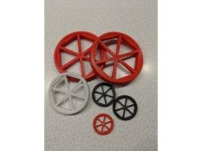 Parametric RC Airplane Wheels