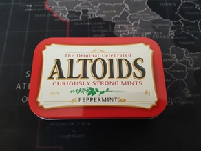 Altoid tins 21700 battery holder
