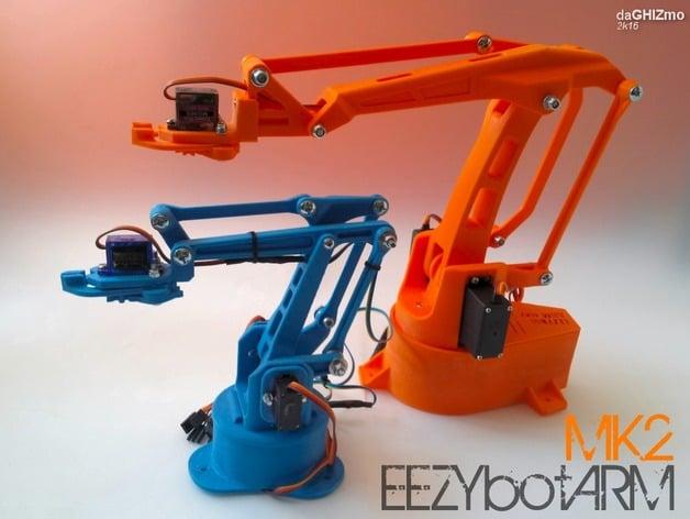 EEZYbotARM Mk2 3D Printed Robot 3D Drucker t Robot