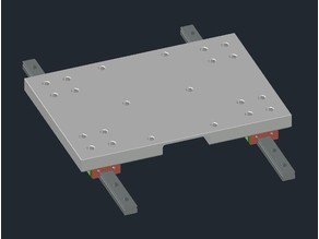 Creality CR-10 - Linear Mod MGN12H