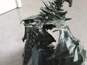 Alduin with printable wings