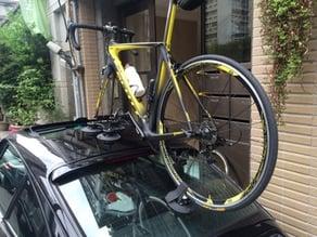Rear wheel mount for Seasucker bike rack