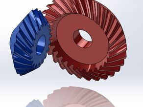 Spiral Bevel Gear Example