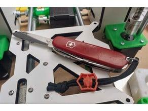 Victorinox SAK Emblem Paracord slide bead lock