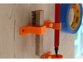 spark plug cleaning brush wall mount